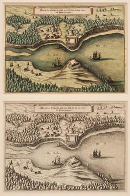 Lot 43 - Poland. Swinemunde (Swinoujscie), Merian (M.), Abriss der Einfarth..., circa 1652