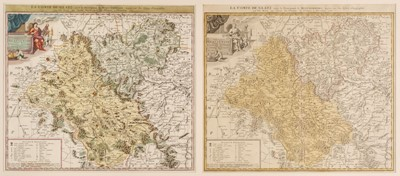 Lot 37-Poland. Homann (J. B., heirs of), Comitatus Glaciensis tabula..., Nuremberg, 1747