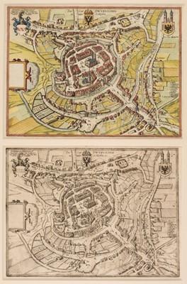 Lot 45 - Poland/Silesia. Braun (G. & Hogenberg F.), Die Stat Swybuschin in nider Schlesien, 1598