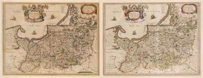Lot 46 - Prussia. Blaeu (W. J.), Prussia Accurate Descripta a Gasparo Henneberg Erlichensi, circa 1645