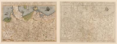 Lot 20 - Germany/Saxony. De Jode (Cornelis), Saxonum Regionis Quatenus..., 1593