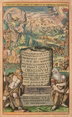 Lot 62-Broelmann (Stephan). Epideigma, 2 parts in 1 volume, 1st edition, Cologne, 1608
