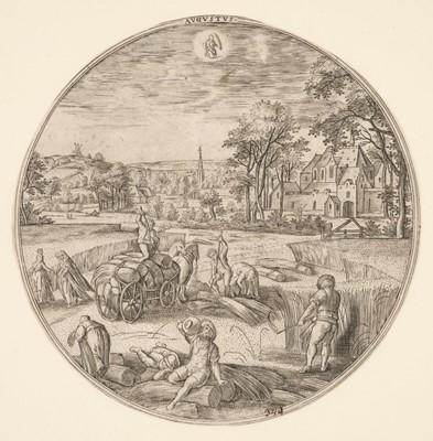 Lot 377-Collaert (Adriaen, circa 1560-1618). Augustus, 1578-82