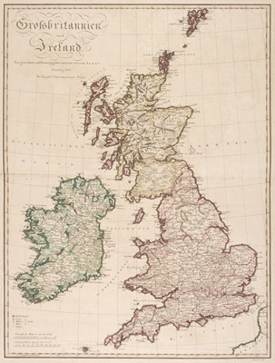 Lot 9-British Isles. A mixed collection of 12 maps, mostly 18th & 19th century