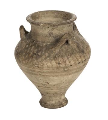 Lot 46-Mycenaean. A Mycenaean pottery vase c.1200BC
