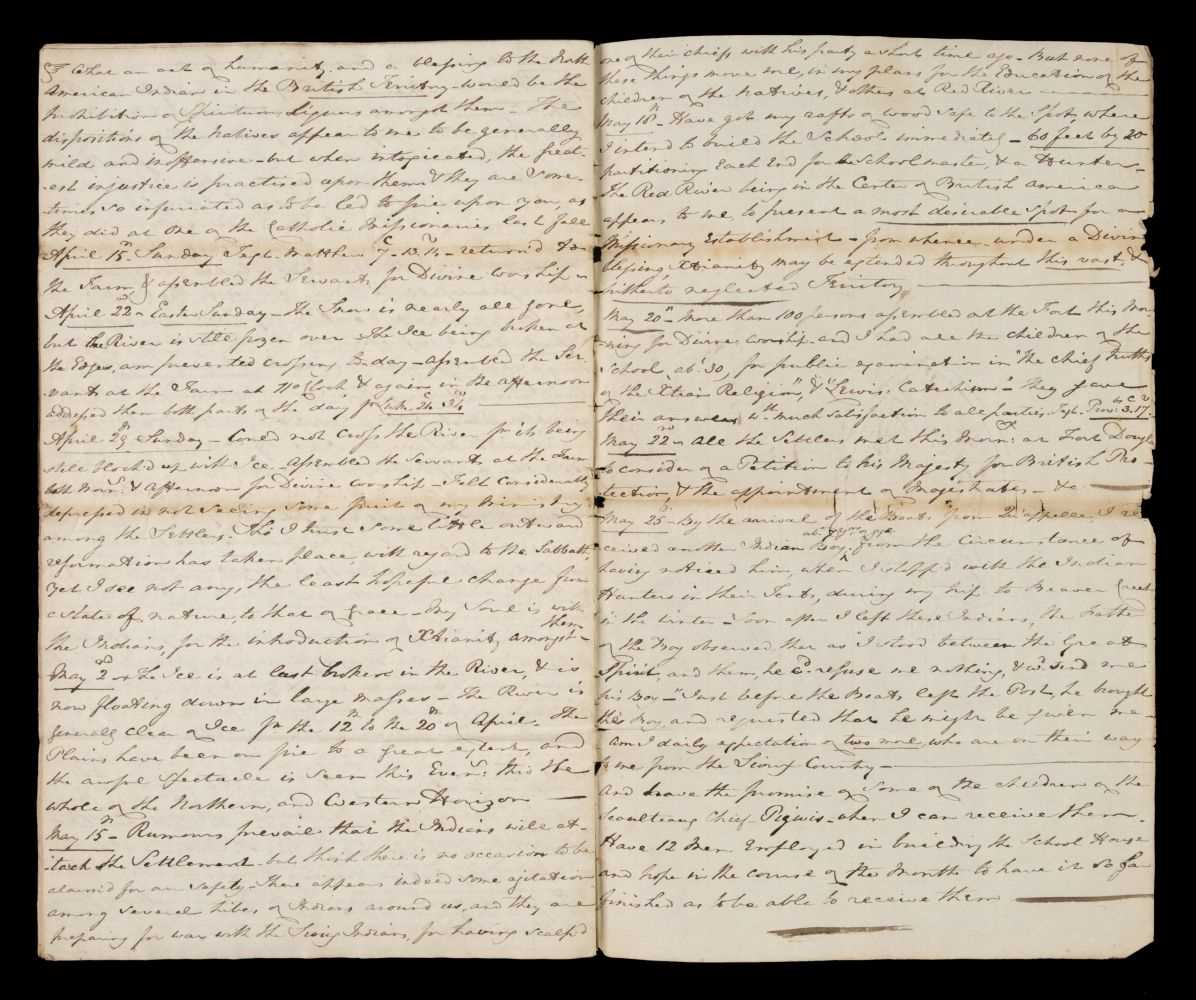 Lot 66 - Canada.Journal of a Voyage to Hudson's Bay, and the Red River Settlement, [Manitoba, Canada]