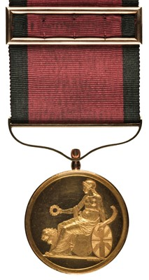 Lot 269 - Army Gold Medal. Field Officer's Medal