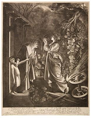 Lot 386-Goudt (Hendrick, 1582/88-1630/48). Ceres seeking her Daughter, after Adam Elsheimer, 1610