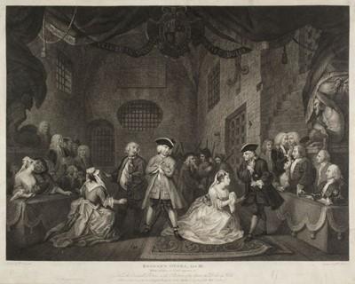 Lot 373-Blake (William, 1757-1827). Beggar's Opera, Act III, 1790