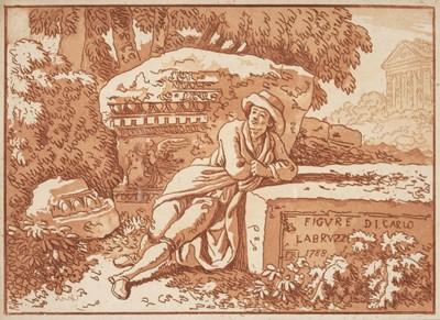 Lot 391-Labruzzi (Carlo). Figure Di Carlo Labruzzi, 1788