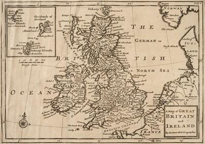 Lot 38 - Cox (Thomas). Magna Britannia, volume I only, 1715