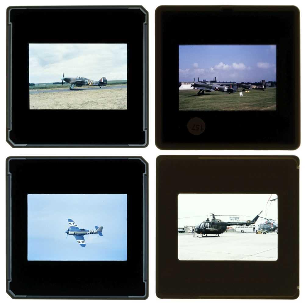 Lot 18-Aviation Slides, Military & Civil 35mm slides, approx. 5000