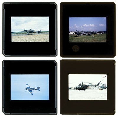 Lot 18-Aviation Slides, Military & Civil 35mm slides, approx. 5000