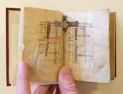 Lot 70 - Book of Hours (Use of Rome). Illuminated Manuscript, circa 1450
