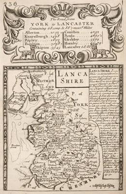 Lot 36 - Bowen (E. & Owen J.). Britannia Depicta or Ogilby Improv'd..., 1724