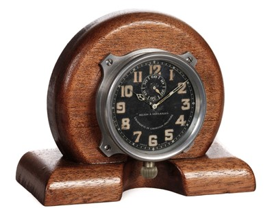 Lot 2-Aircraft Clock. A WWI French aircraft clock