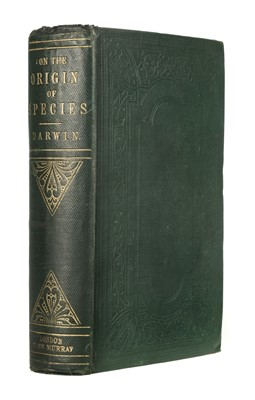 Lot 99 - Darwin (Charles). On the Origin of Species, 3rd edition, 1861