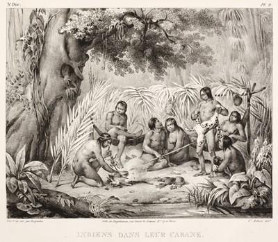 Lot 13 - Rugendas (Johann Moritz). Voyage pittoresque dans le Brésil, Paris: Engelmann, 1835