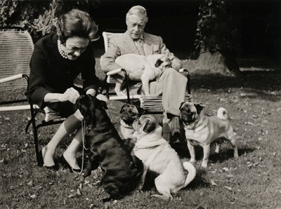Lot 41-Duke & Duchess of Windsor. Series of 6 gelatin silver print photographs by Michel Chapuis, c. 1960s