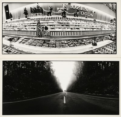 Lot 31-Alinder (James, 1941-). A group of 6 vintage gelatin silver panoramic prints, c. 1975