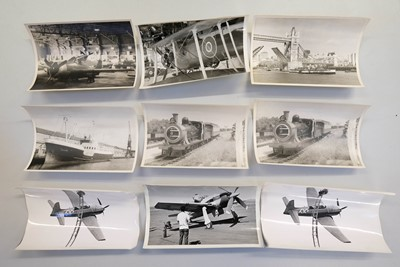 Lot 14-Aviation Photographs. An extensive collection of photographs c.1950/60s