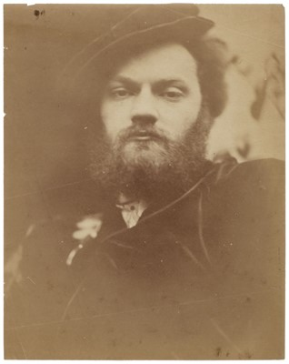Lot 30-Wynfield (David Wilkie, 1837-1887). Portrait of Valentine Cameron Prinsep, c. 1865, albumen print