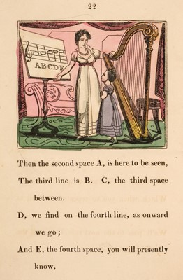 Lot 451 - Dean and Munday. The Gamut and Time-Table, in Verse, by C. Finch, circa 1824