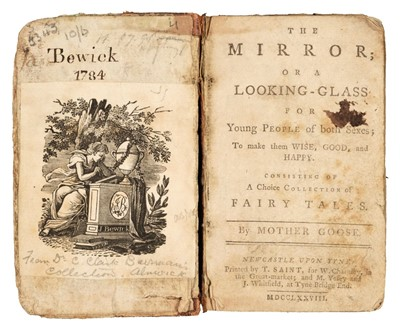 Lot 447 - Bewick (Thomas, 1753-1828). The Mirror; or a Looking-Glass, signed by Bewick, 1778