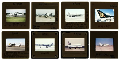 Lot 20-Aviation Slides. A large and impressive collection of 35 mm colour slides