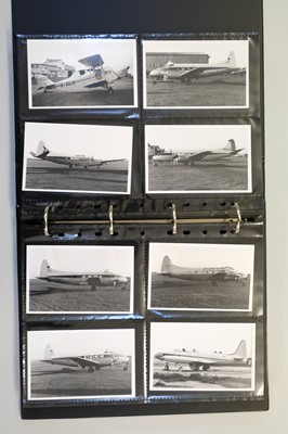 Lot 10-Aviation Photographs. A collection of 1350 black and white photographs
