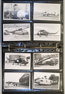 Lot 10 - Aviation Photographs. A collection of 1350 black and white photographs