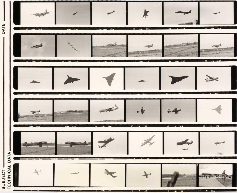 Lot 7-Aviation Negatives. A collection of 4,600 black & white negatives