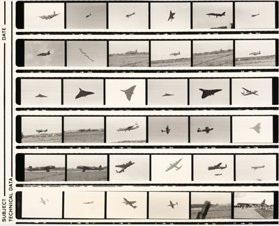 Lot 7-Aviation Negatives. A collection of 4,600 black & white negatives