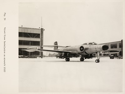 Lot 38-CF-100. An archive relating to the Avro Canada CF-100