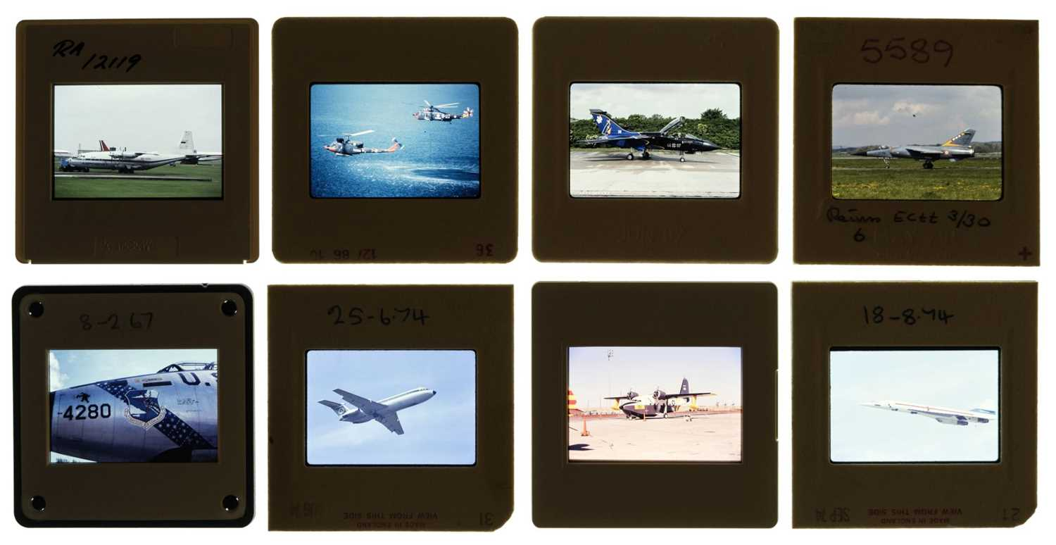 Lot 19-Aviation Slides. A collection of approx. 5000 unsorted 35mm colour slides