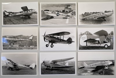Lot 13-Aviation Photographs. A mixed collection photographs
