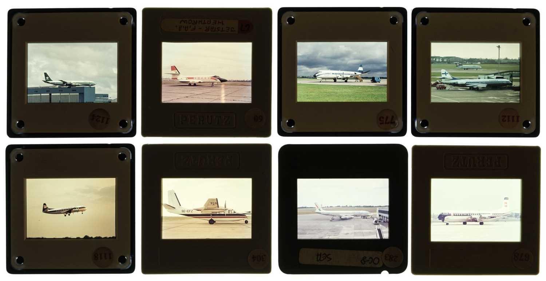 Lot 24-Aviation Slides. Civil aviation slides