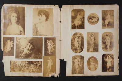 Lot 20 - Maynard (George Willoughby, 1843-1923). A photographically-illustrated scrap album, c. 1870s