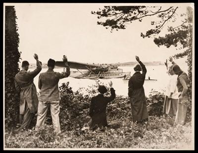 Lot 15 - Aviation Photographs. Approximately 90 French Flying Boat photographs