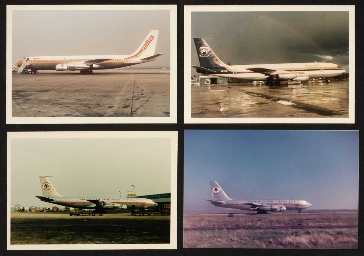 Lot 9 - Aviation Photographs. 8 albums containing Commercial Airliner photographs