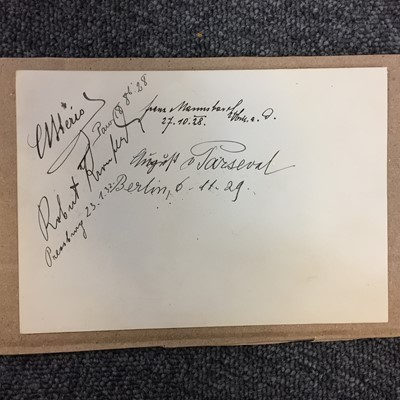 Lot 32-Bleriot (Louis, 1872-1936). A multi-signed document