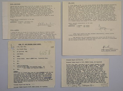 Lot 29-Battle of Britain. A Combat Report dated 15 October 1940
