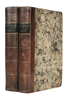 Lot 96 - Board of Agriculture; Scotland. Two volumes of agricultural reports, 1793-5