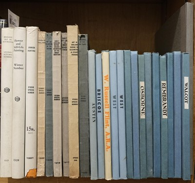 Lot 301 - Studio (The, publisher). Studio Special Numbers, 9 volumes, 1908-1929