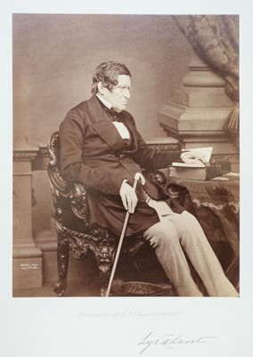 Lot 18-Mayall (John Jabez Edwin, 1810-1901). Mayall's Series of Photographs of Eminent Men, 1862