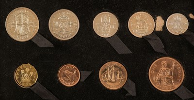 Lot 46 - Coins. Great Britain and South Africa. Two Proof Sets