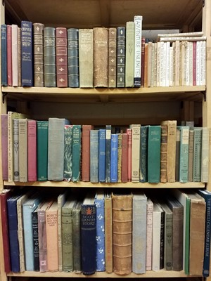 Lot 390 - Literature. A collection of miscellaneous 19th & early 20th century literature & fiction