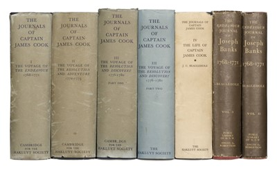 Lot 12 - Cook (Captain James). Journals, 5 volumes, 1967-74