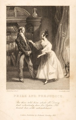 Lot 490 - Austen (Jane). Pride and Prejudice, A Novel, Richard Bentley, 1833
