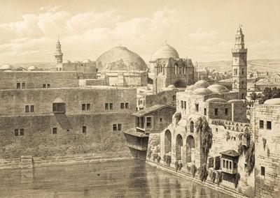 Lot 27 - Pierotti (Ermete). Jerusalem Explored, 2 volumes, 1st edition, 1865